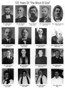 Pastors 1867-1991